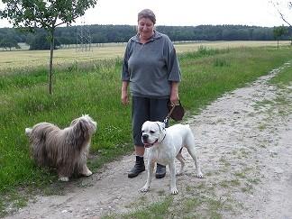 Mein Frauchen Conny, Imay und ich