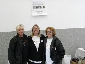 Unsere drei Damen - Sabine - Gabi - Heike