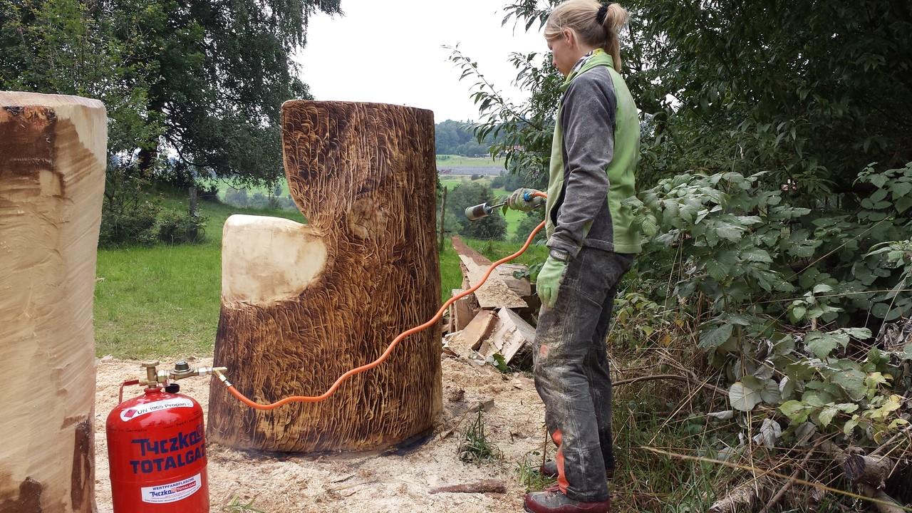Holzbehandlung Allgäu Carving