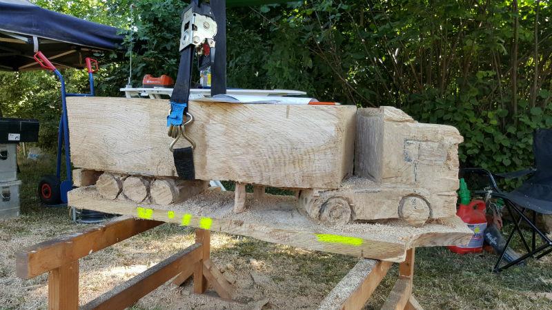 Carving-Treffen - Schnitzen mit der Kettensäge - Allgäu-Carving by Martina Gast