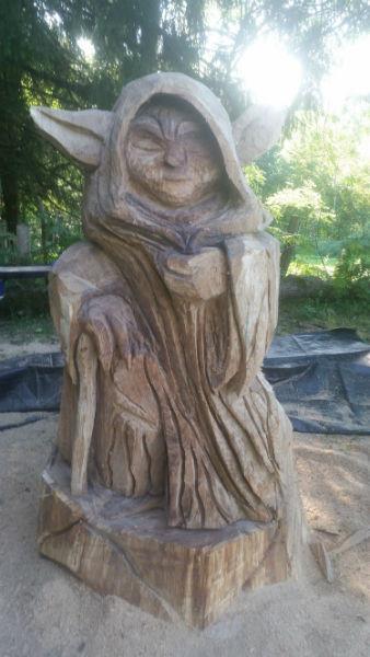 Joda - Schnitzen mit der Kettensäge - Allgäu-Carving by Martina Gast