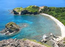 母島の南崎