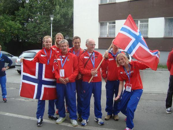 Worked with Norway 24 hour running team on several big championships