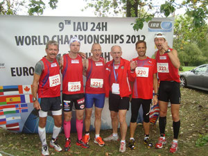 "Norways 24 running team - they run ""a bit more"" than the average person per week"