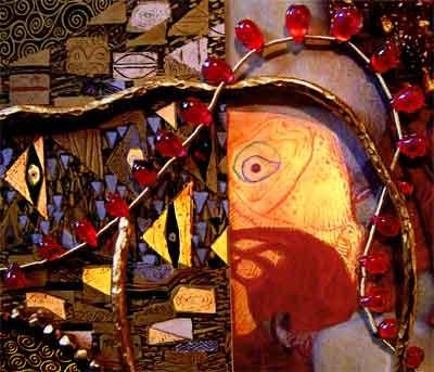 世紀末ウィーンの象徴である G.Klimt