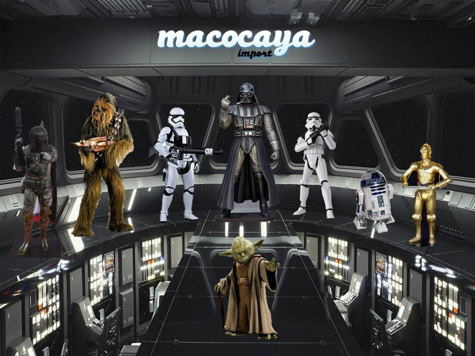 La mejor decoración temática sobre Star Wars en Mundo Temático