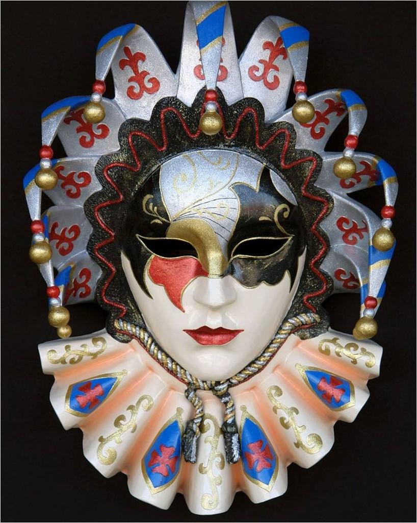 Como adornar una m scara imagui - Mascaras venecianas decoracion ...