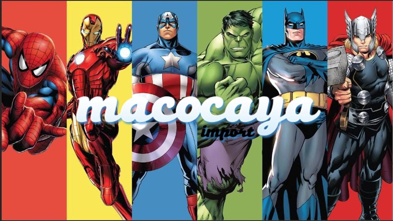 La mejor decoración temática de superhéroes