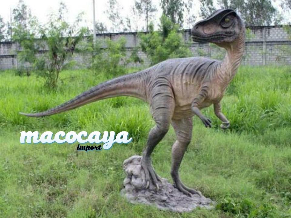 Figura temática de dinosaurio Allosaurus