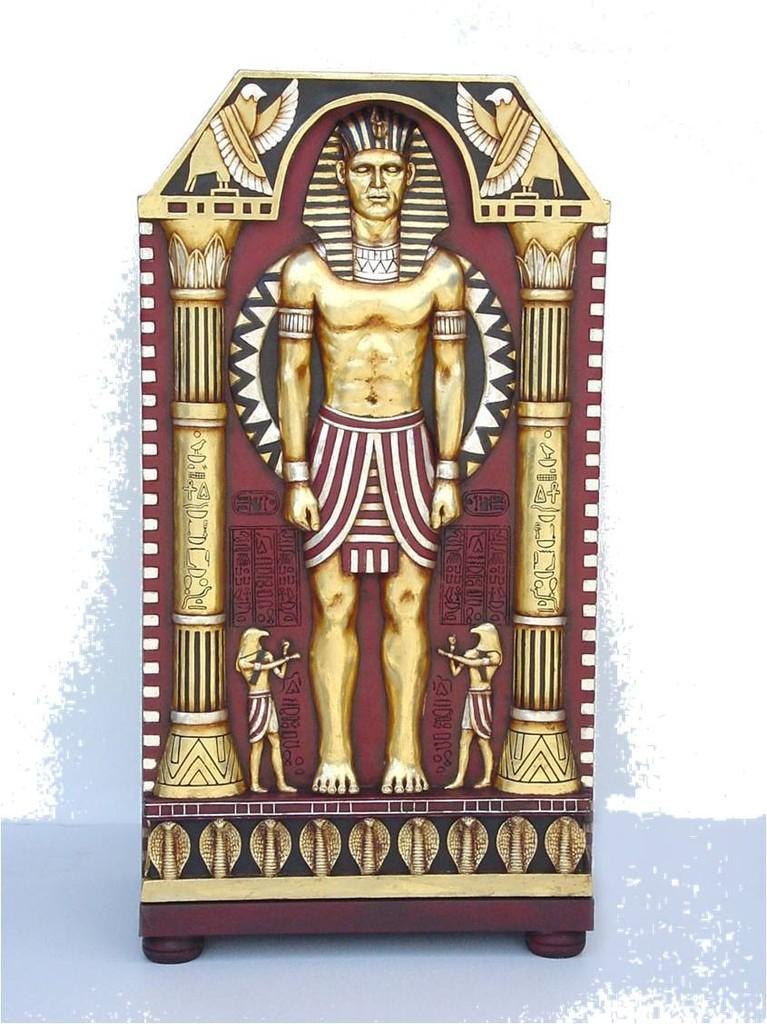Decoraci n tem tica de egipto figuras de egipto for Decoracion egipcia