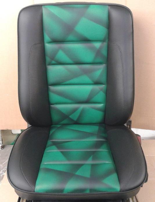 neu gefärbter Limited Sitz