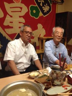 髙藤先生と李阿吽斎先生(右