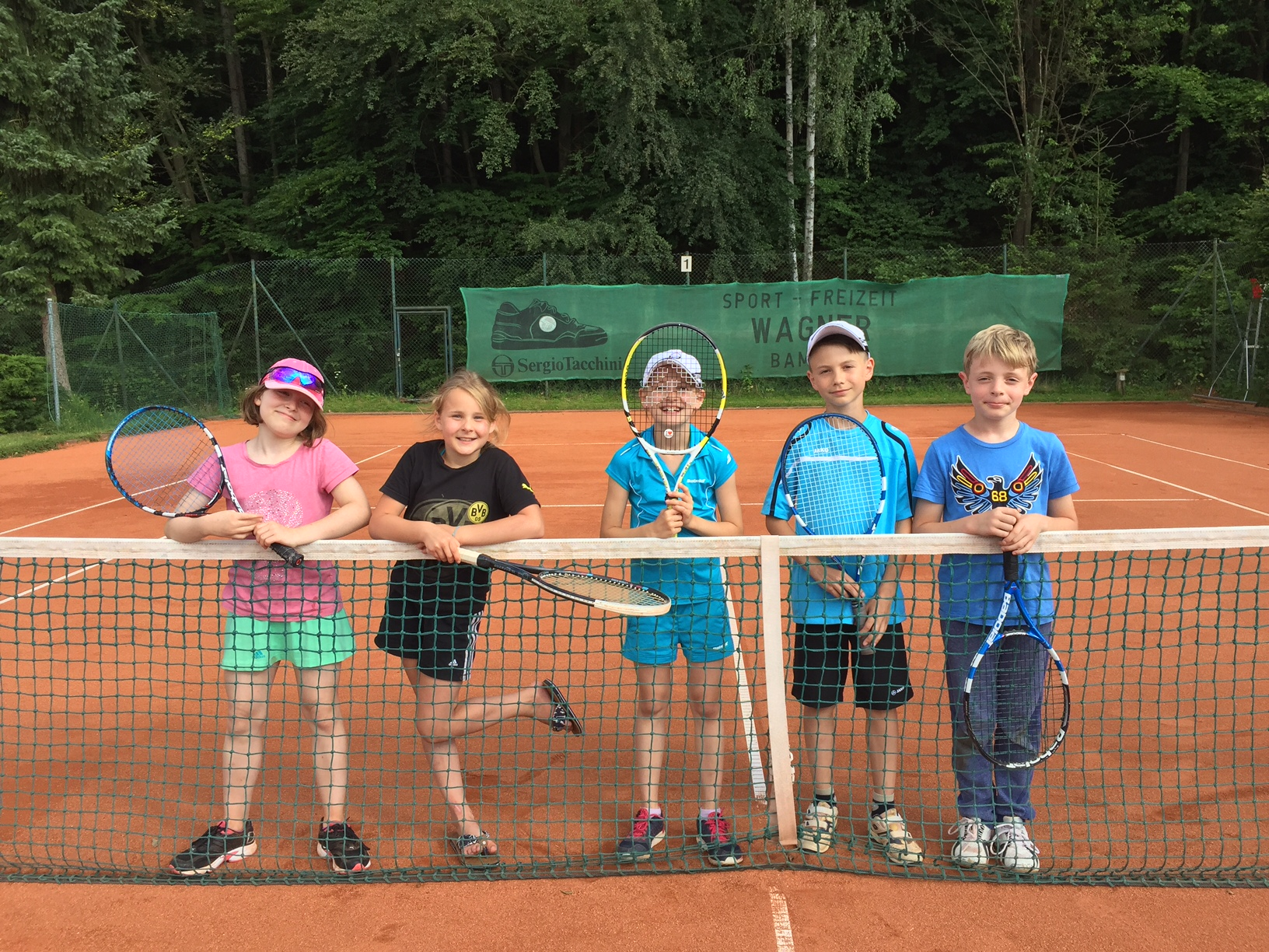 v.l. Marie, Maxi, Elina, Matthias, Leandro