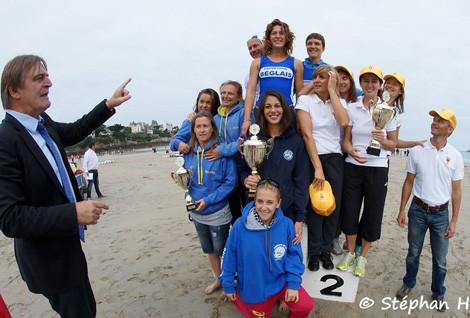 podium feminin dinard 2013