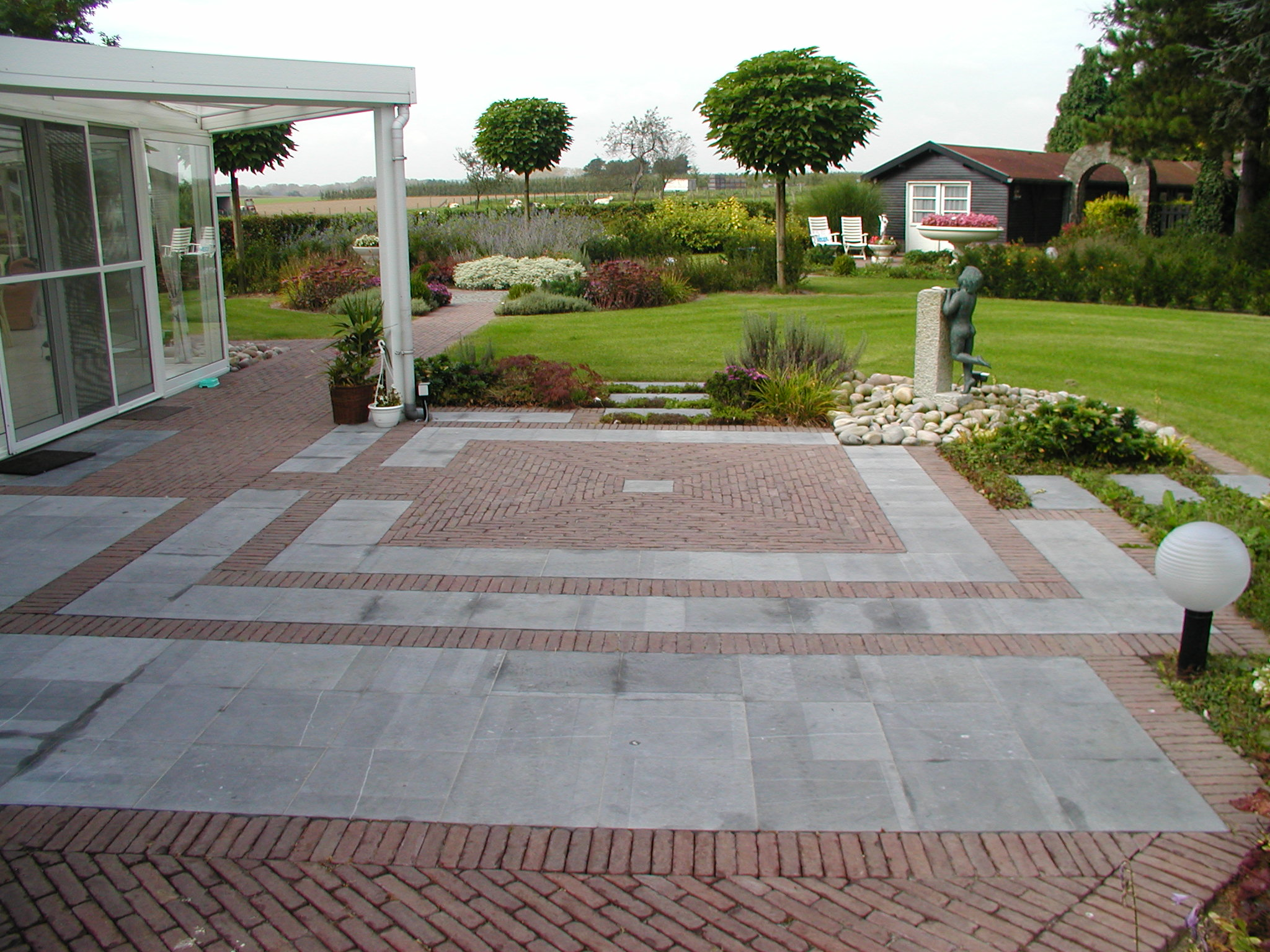 Tuin vijveraanleg de website van briers jackers for Site amenagement jardin