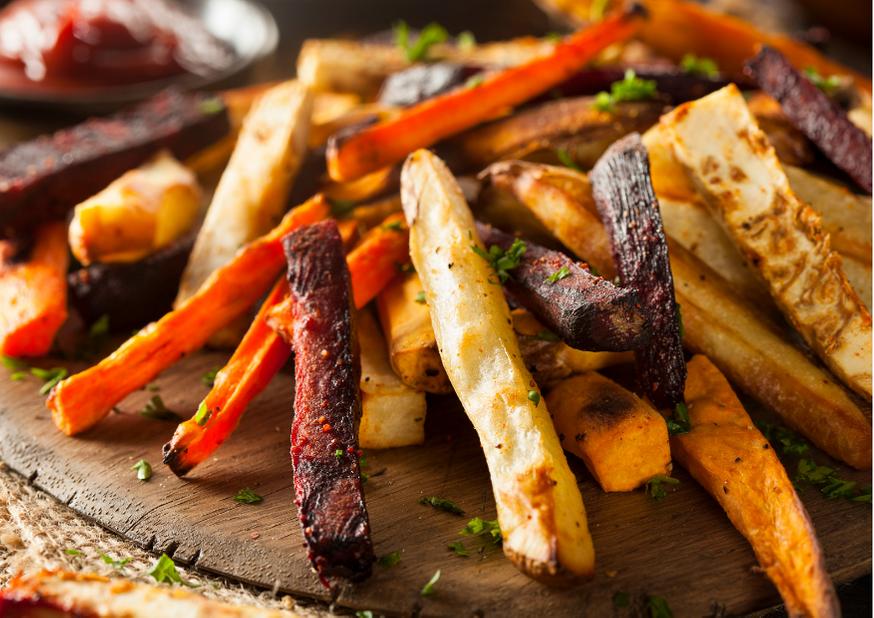 Gemüse-Fries: die gesunde Pommes Alternative