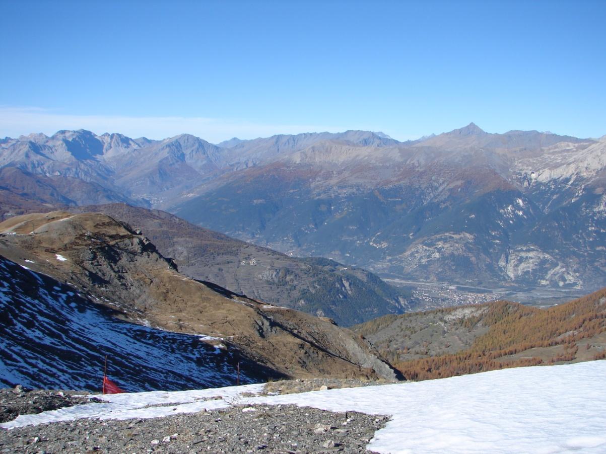 Foto della panoramica cima torre : Lato paese di Bardonecchia