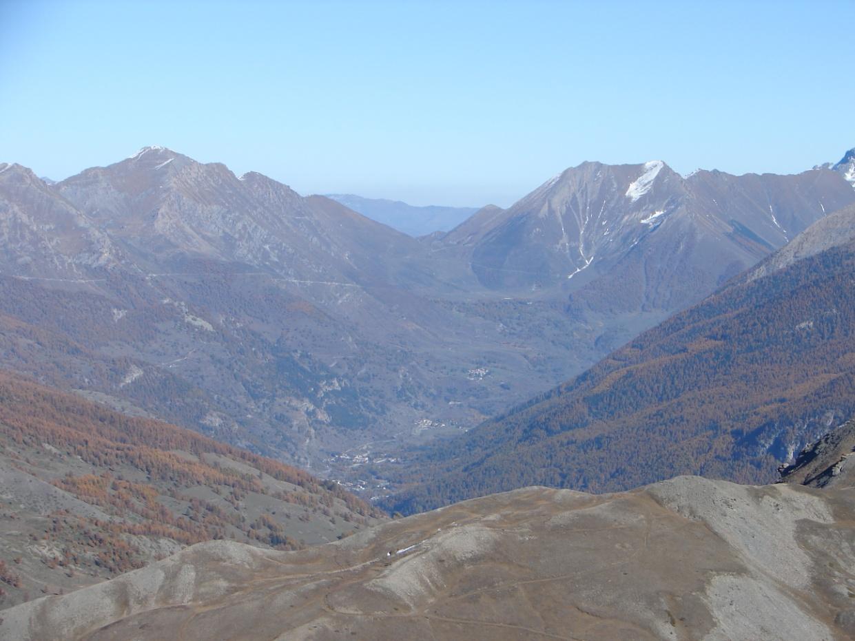 Foto della panoramica cima torre : Lato Valle Chisone