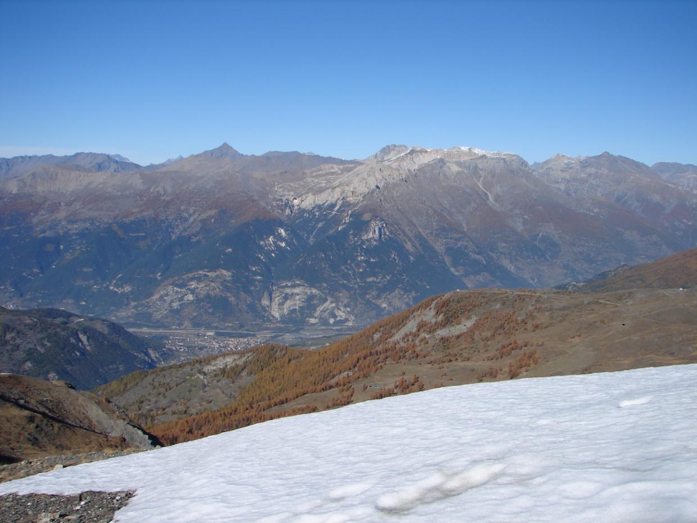 Foto della panoramica cima torre : Lato paese di Oulx