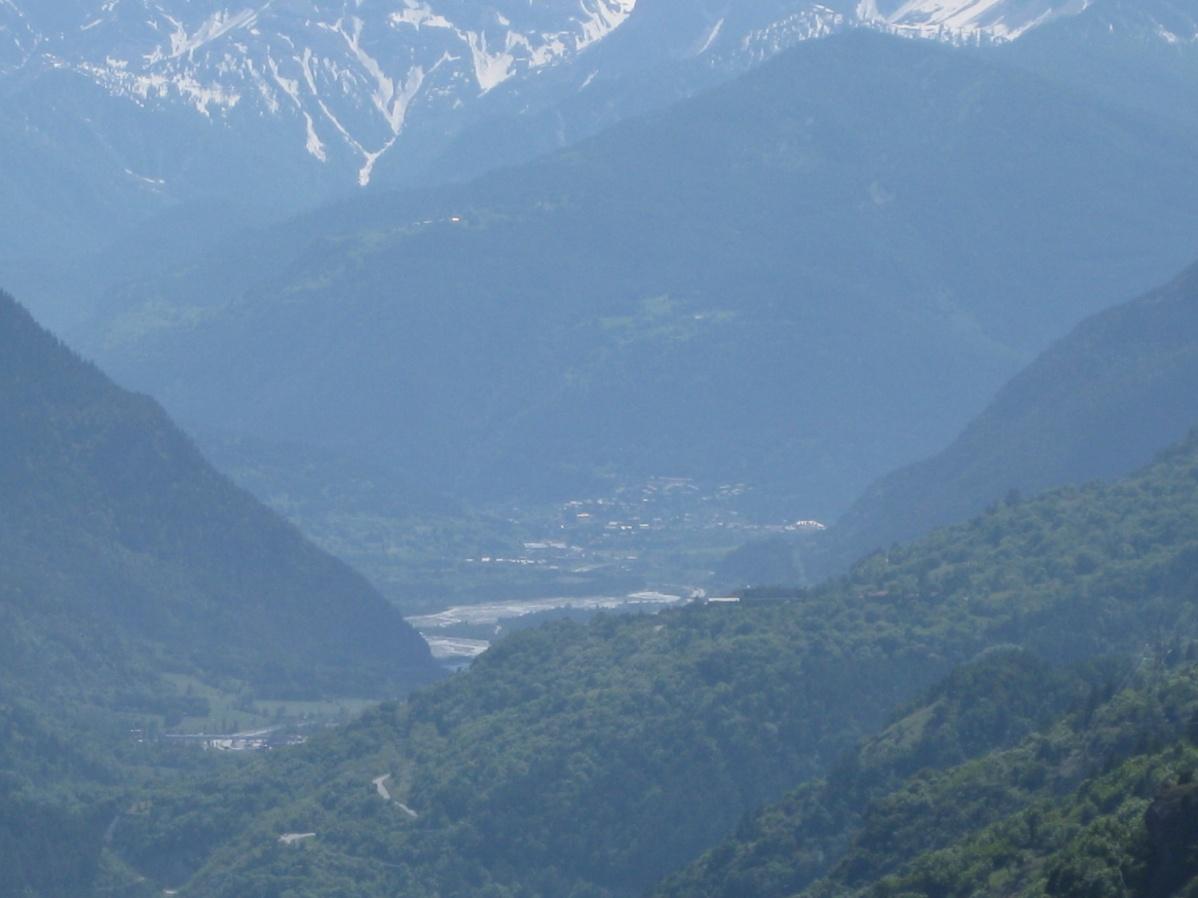 Foto della panoramica cima torre : Lato Alta Valle di Susa