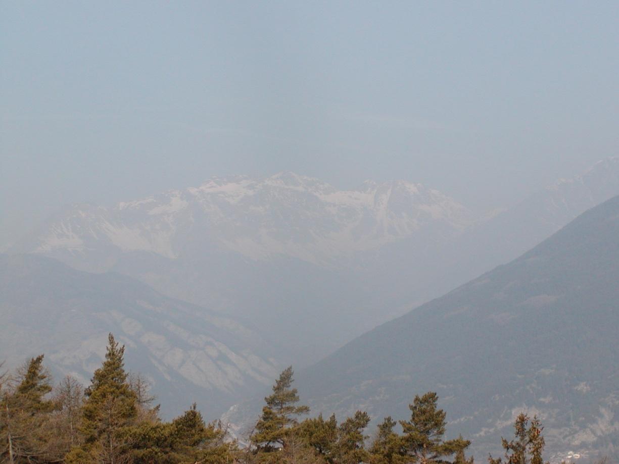 Foto della panoramica cima torre : Lato Alta Valle paese di Sav Oulx