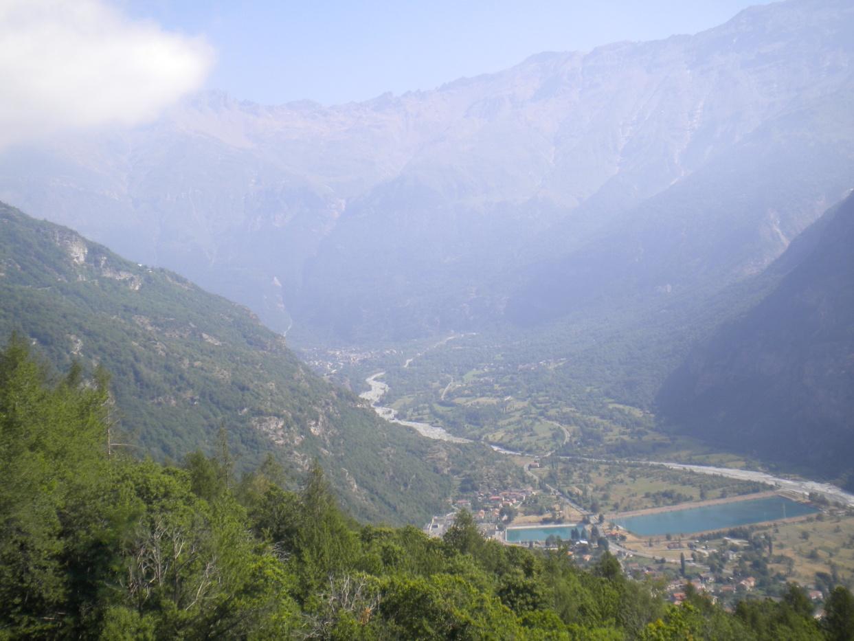Foto panoramica copertura Valle Cenischia