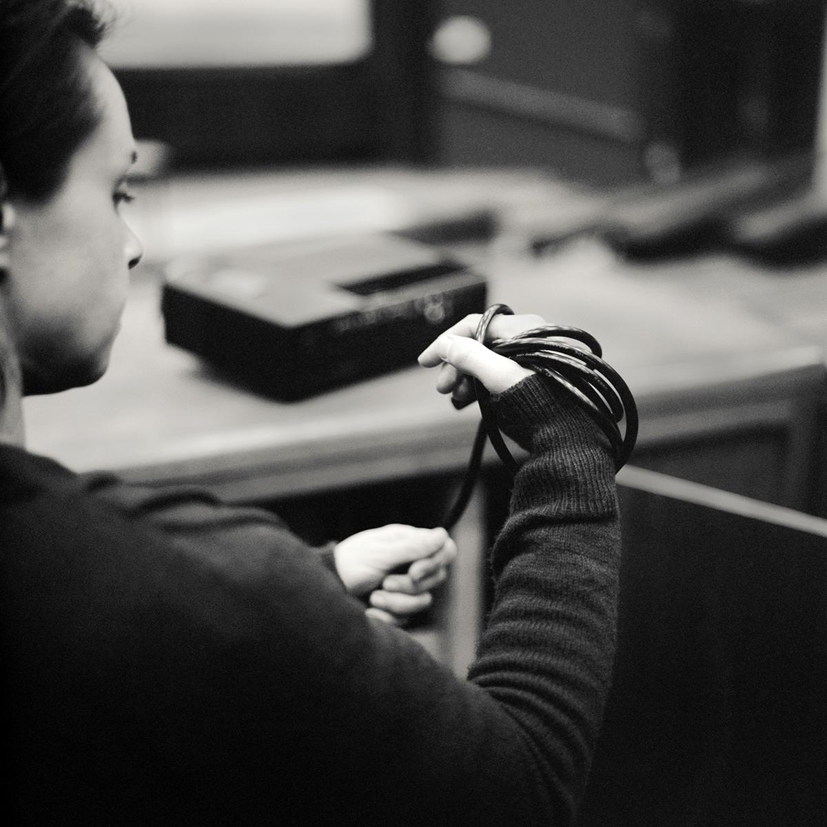 Amélie : agent logistique évènementiel ©Jean-Jacques Ader