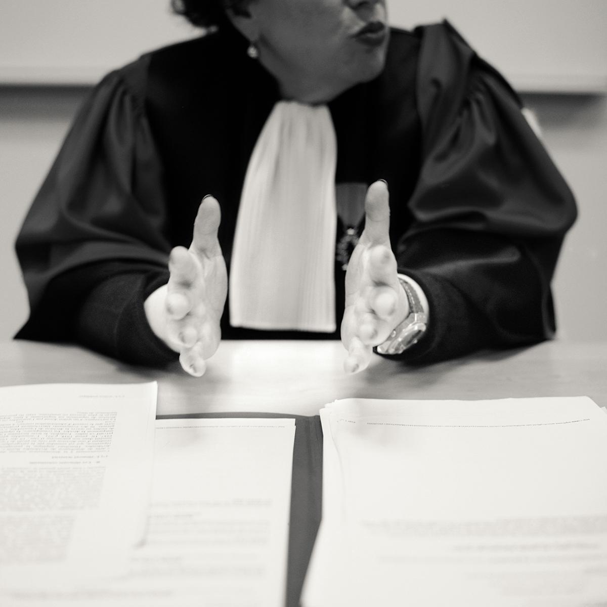 Marie-Christine : professeure de droit pénal et sciences criminelles ©Jean-Jacques Ader