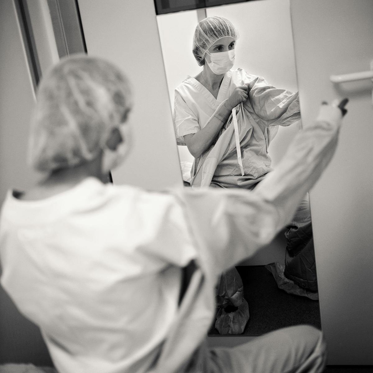 Anne : maitre de conférence et praticienne hospitalier     ©Jean-Jacques Ader