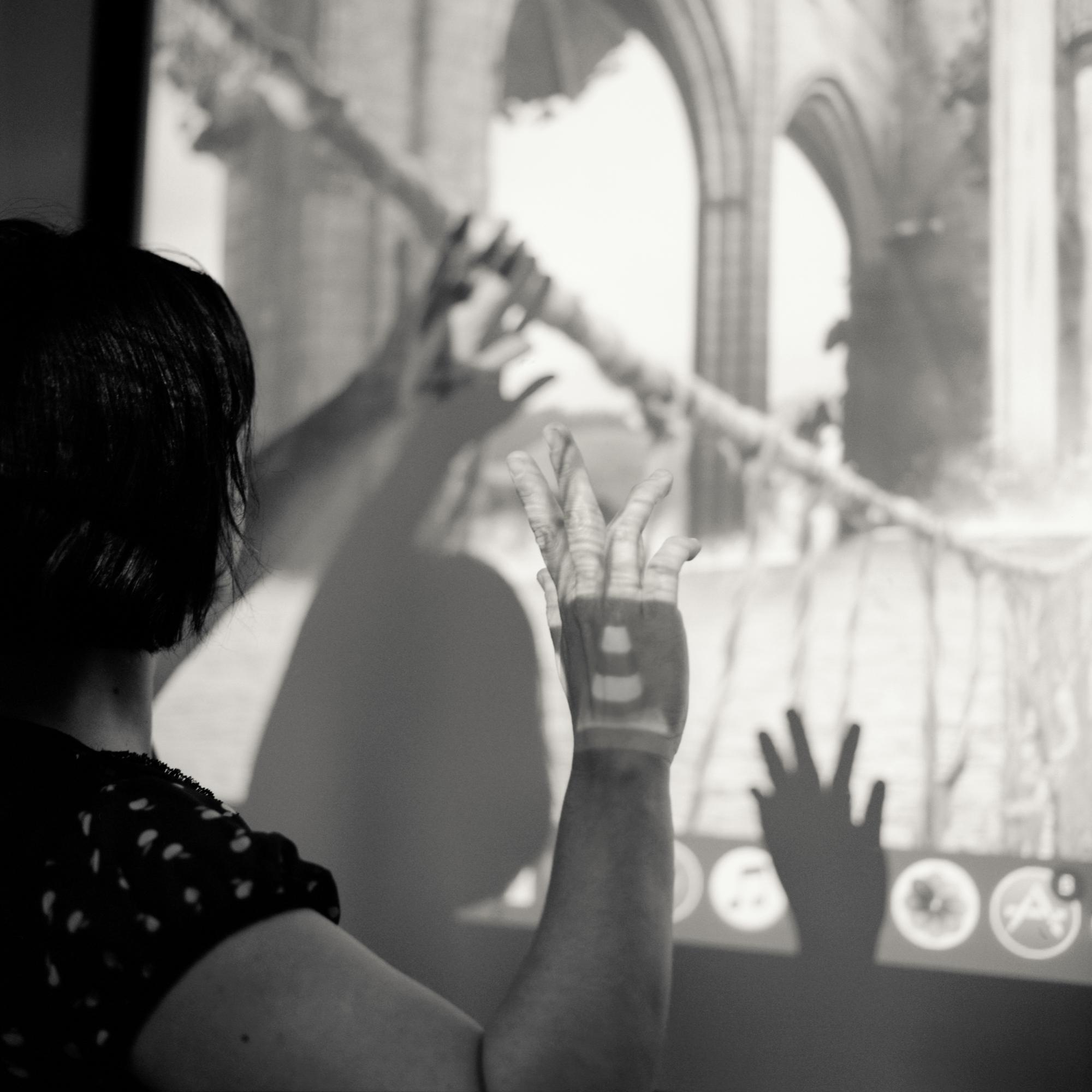 Emmanuelle : enseignante d'arts appliqués ©Jean-Jacques Ader