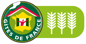 Certification officielle 3 épis Gîte de France