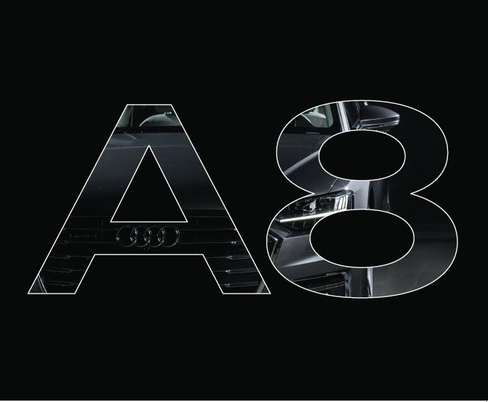 Markteinführung Audi A8 - Eventplanung sowie Grafik/Satz/Druck Einladungskarten