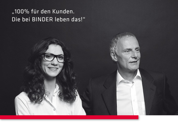 BINDER IT-Systemhaus - 100% für unsere Kunden