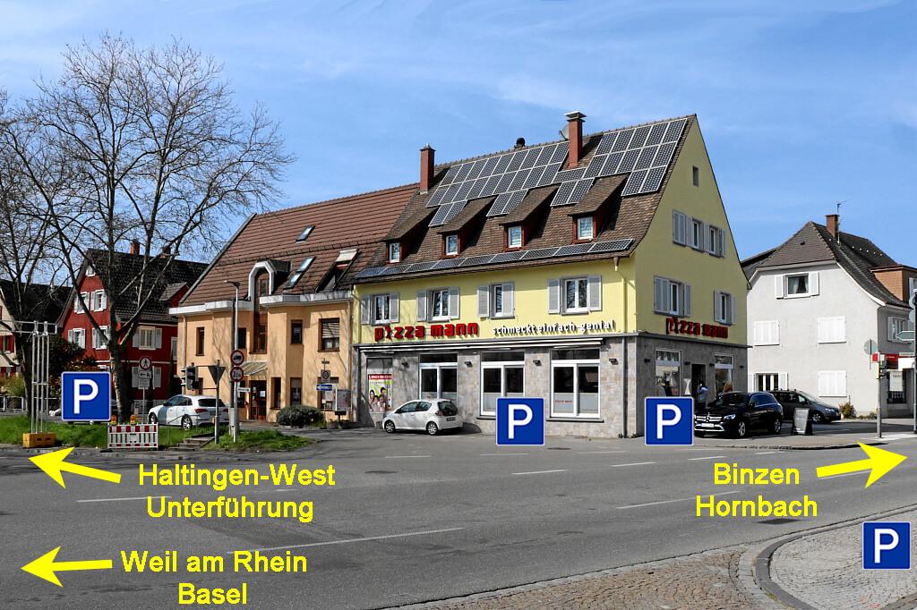 Pizza Mann Pizzeria in Weil am Rhein Haltingen