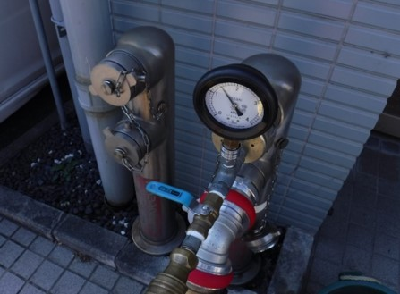 連結送水管耐圧性能試験@菱和パレス高輪TOWER管理組合/クレアスコミュニティー