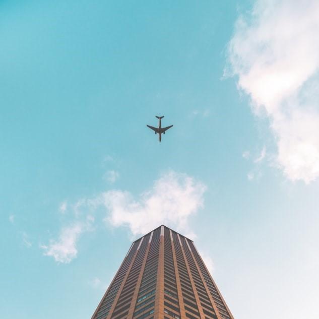 屋上広告塔の撤去(ビフォー&アフター)