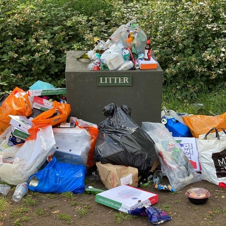 ゴミの分別にご協力願います