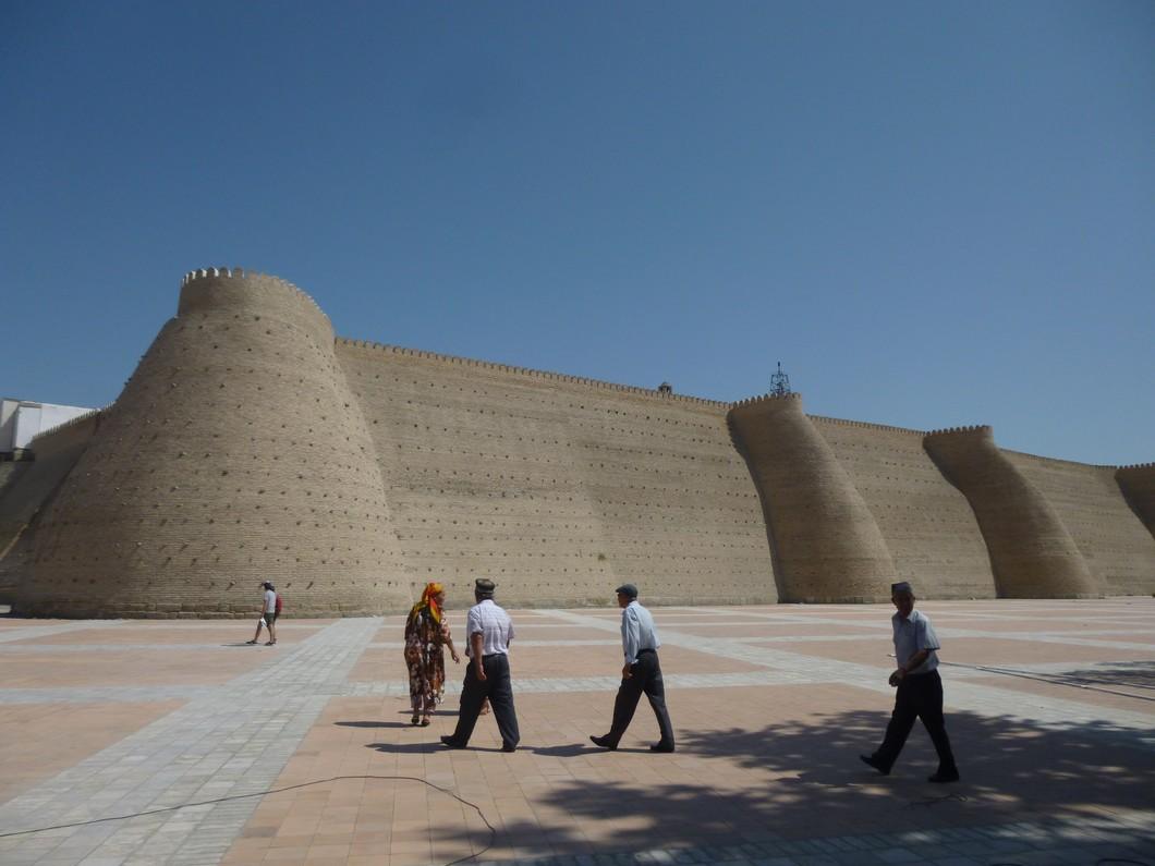 l'enceinte de la citadelle de Boukhara