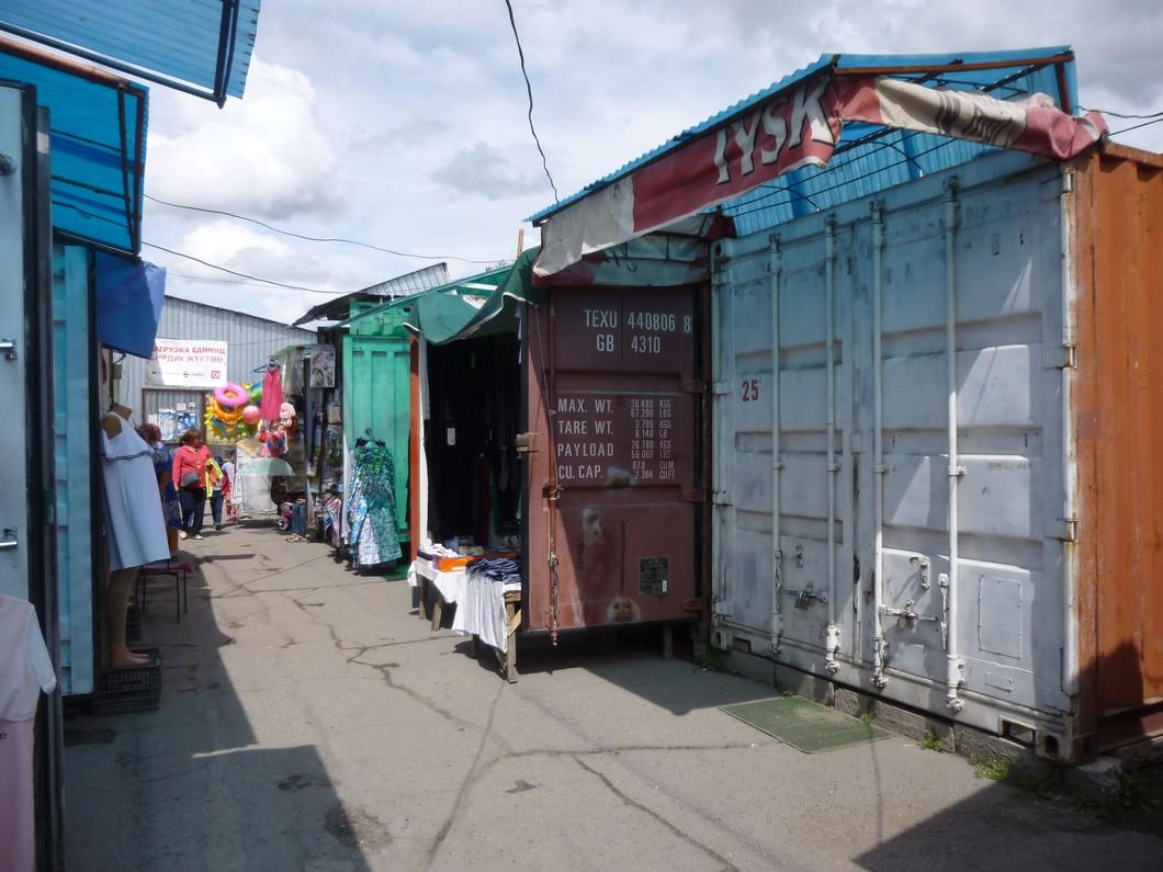 le bazar de Karakol