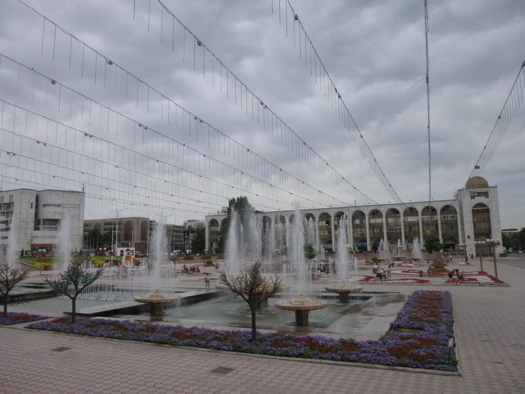 la grande place de Bichkek