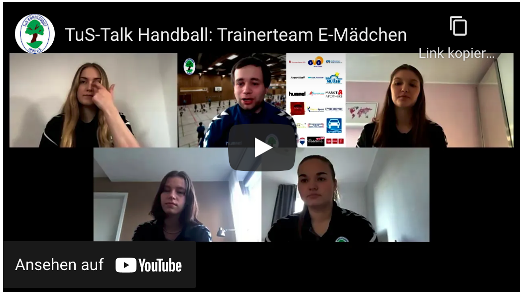 Tus Talk / Trainerteam E-mädchen