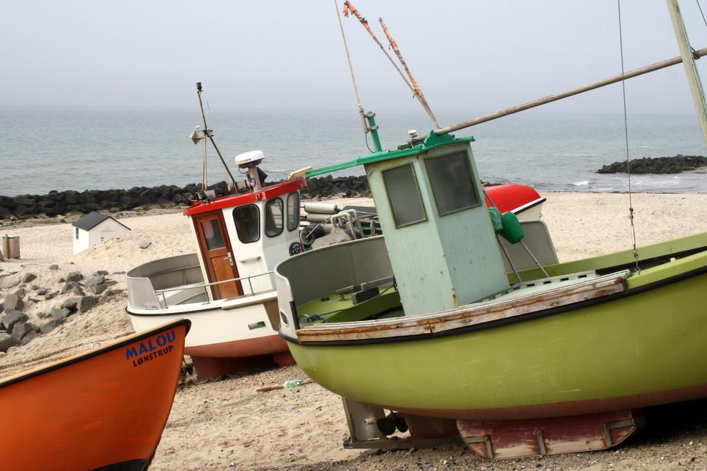Fischerboote Nr. 9