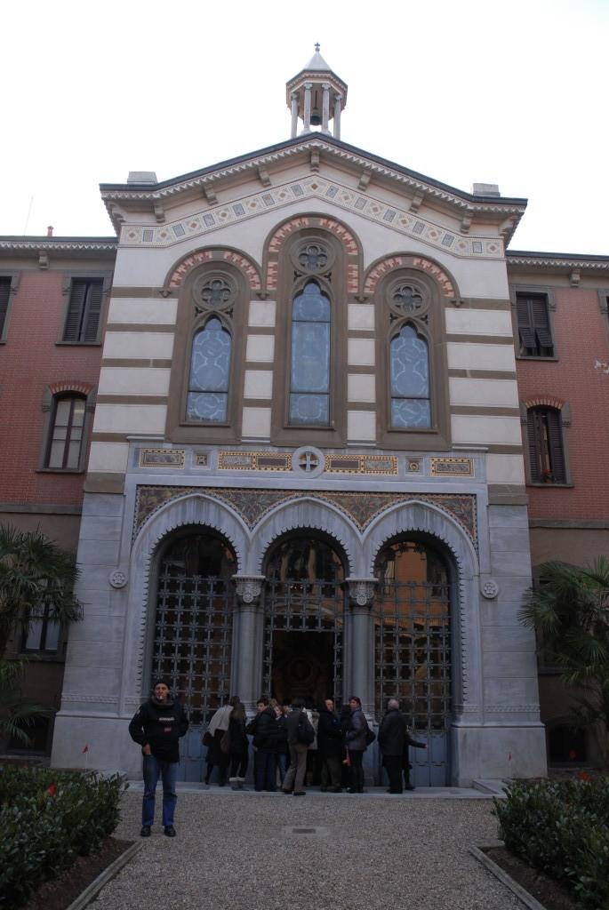 Il Monumento che ospita le spoglie di G.Verdi