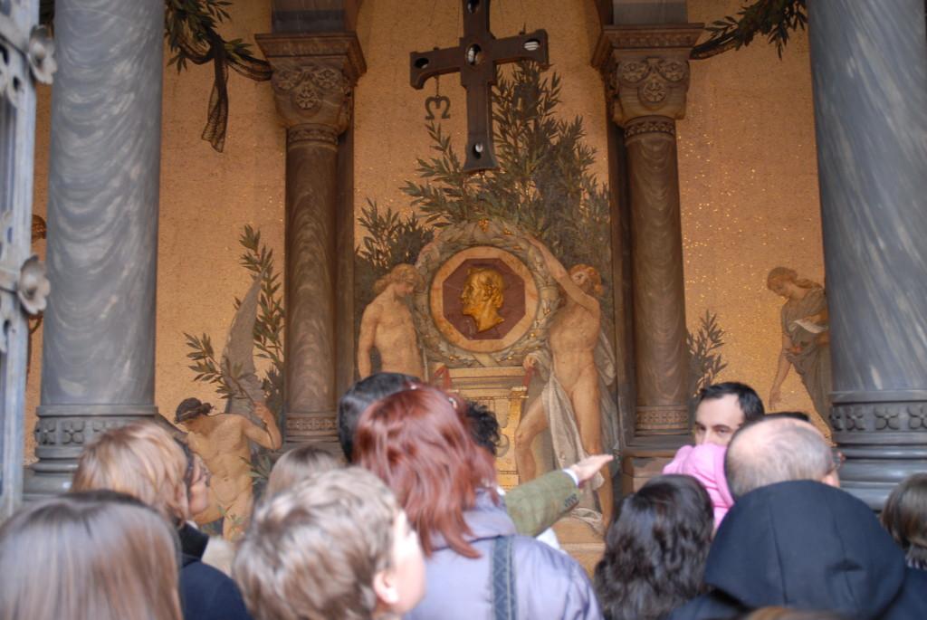La Cripta dove è sepolto G.Verdi