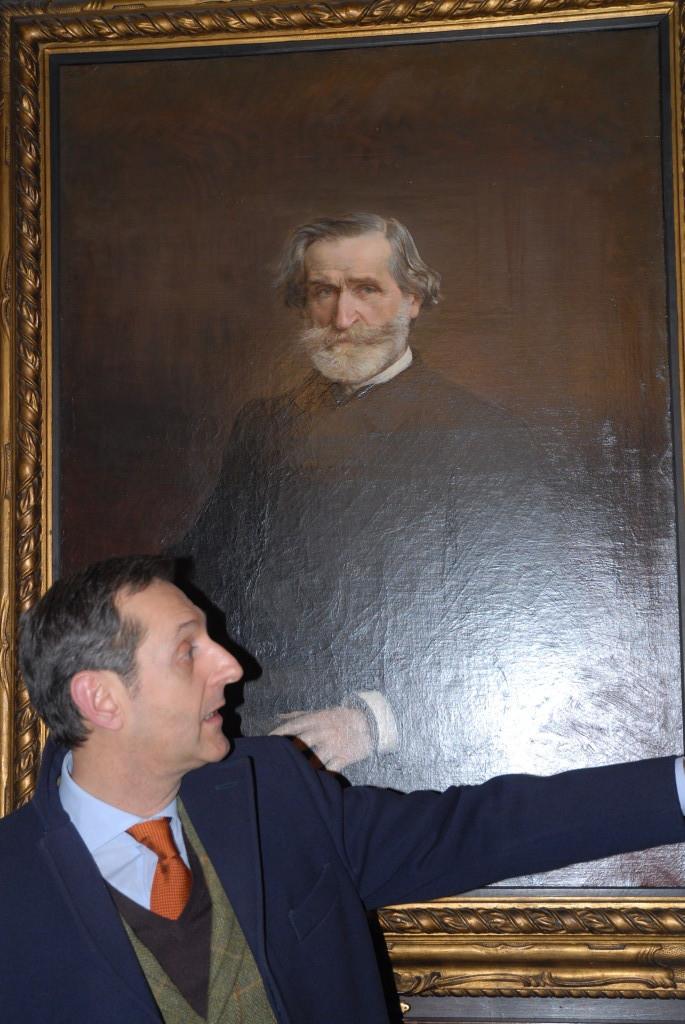 Il Ritratto di Giuseppe Verdi
