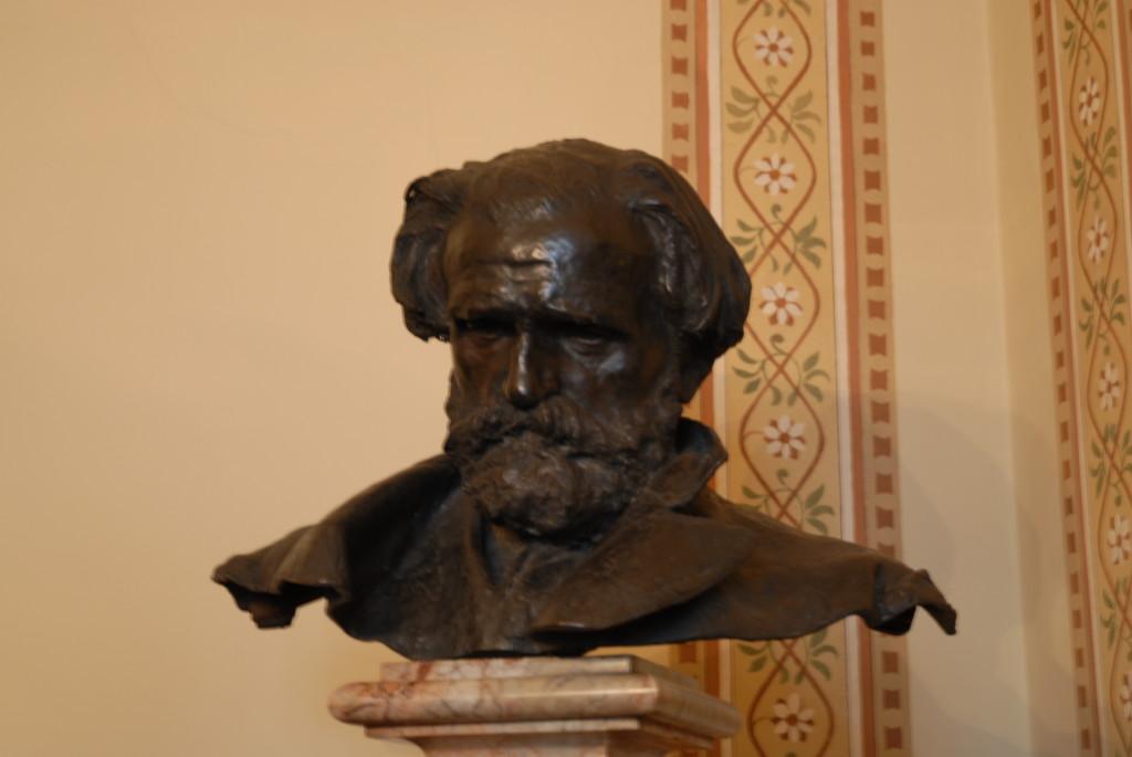 Il Famoso busto di Verdi realizzato da Gemito.