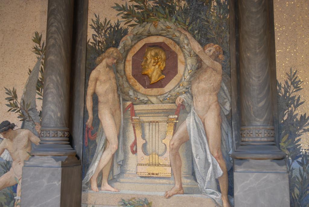 L'interno della Cripta.