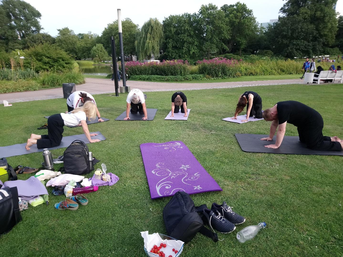 den Rücken aktivieren - Übungen aus Chinese Yoga Sintonie