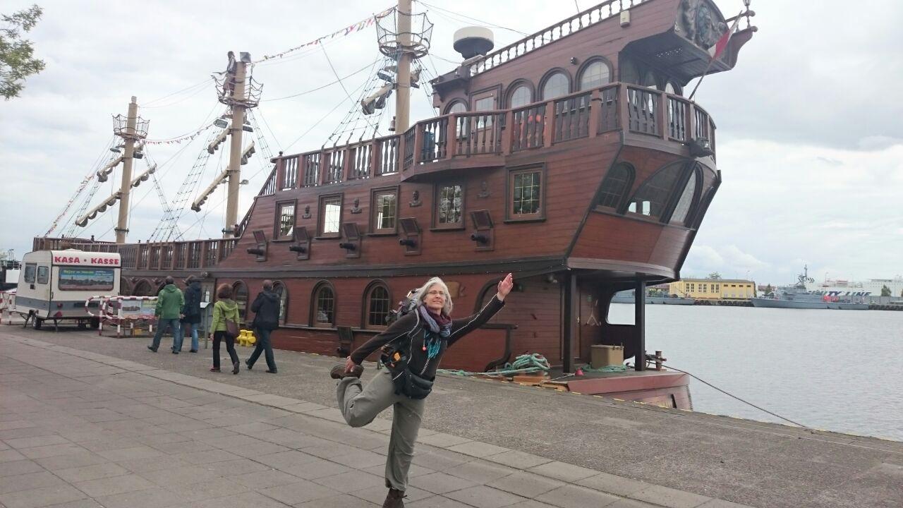 Im Hafen von Swinemünde