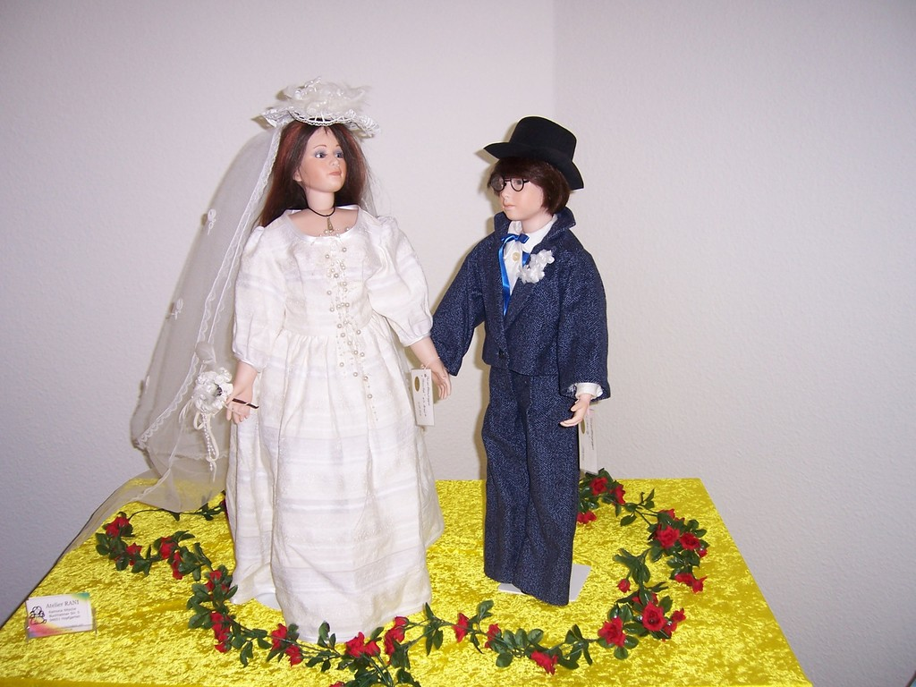 Brautpaar Nike und Charly
